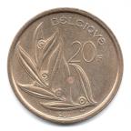 (W023.2000.1982.1.000000001) 20 Francs Baudouin 1982 Revers