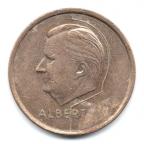 (W023.2000.1994.1.1.000000001) 20 Francs Albert II 1994 - Légende flamande Avers