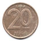 (W023.2000.1994.1.1.000000001) 20 Francs Albert II 1994 - Légende flamande Revers