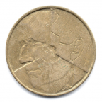 (W023.500.1988.1.000000001) 5 Francs Baudouin 1988 - Légende flamande Avers