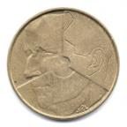 (W023.500.1993.1.1.000000001) 5 Francs Baudouin 1993 - Légende flamande Avers