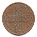 (W176.1.1976.1.000000001) 1 Escudo aux cinq écussons en croix 1976 Avers