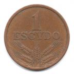 (W176.1.1976.1.000000001) 1 Escudo aux cinq écussons en croix 1976 Revers