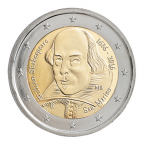 2 euro commémorative Saint-Marin 2016 - Shakespeare