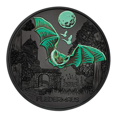 3 euro Autriche 2016 BU - Chauve-souris Revers (visuel supplémentaire 2)