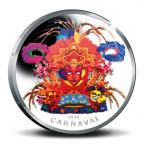 5 Florin Carnaval d'Aruba 2014 - Argent BE Revers