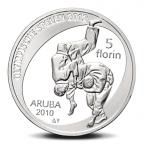 5 Florin Jeux olympiques d'été (2012) 2010 - Argent BE Revers