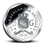 5 Gulden George Maduro 2016 - Argent BE Avers