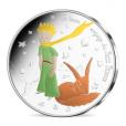 50 euro France 2016 argent - Le Petit Prince et le Renard Avers