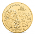 50 euro France 2017 or BE - Année du Coq Revers