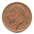 (W023.050.1966.2.000000001) 50 centimes Mineur, Petite tête 1966 Avers