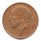 (W023.050.1975.2.000000001) 50 centimes Mineur, Petite tête 1975 Avers