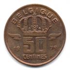 (W023.050.1979.2.000000001) 50 centimes Mineur, Petite tête 1979 Revers