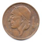 (W023.050.1980.2.000000001) 50 centimes Mineur, Petite tête 1980 Avers