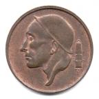 (W023.050.1981.2.000000001) 50 centimes Mineur, Petite tête 1981 Avers