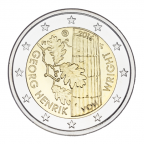 2-euro-commemorative-finlande-2016-georg-henrik-von-wright-avers