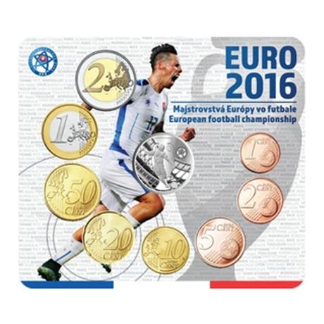Coffret BU Slovaquie 2016 - Championnat d'Europe de football (visuel supplémentaire)