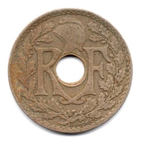 (FMO.025.1925.15.9.000000002) 25 centimes Lindauer 1925 Avers