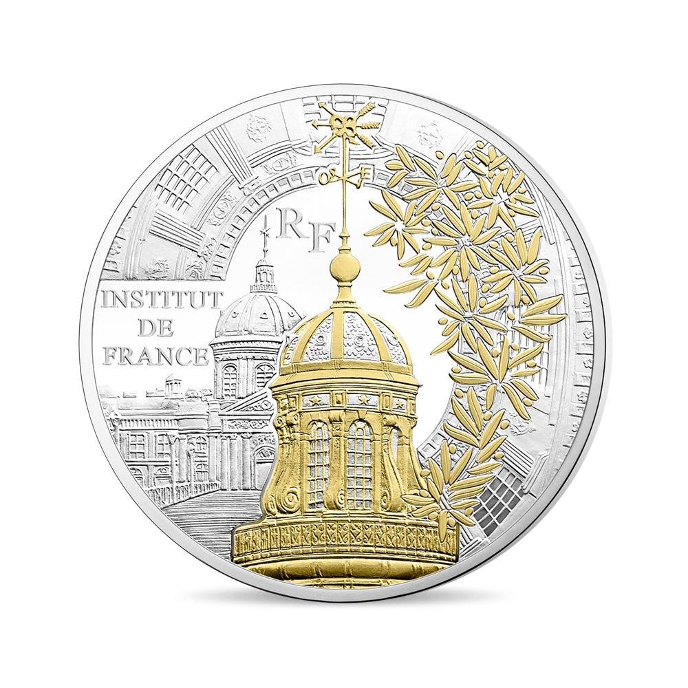 (EUR07.ComBU&BE.2016.10041300940000) 10 euro France 2016 Proof silver - Institut de France Obverse (zoom)