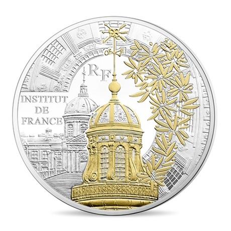 (EUR07.ComBU&BE.2016.10041300940000) 10 euro France 2016 argent BE - Institut de France Avers