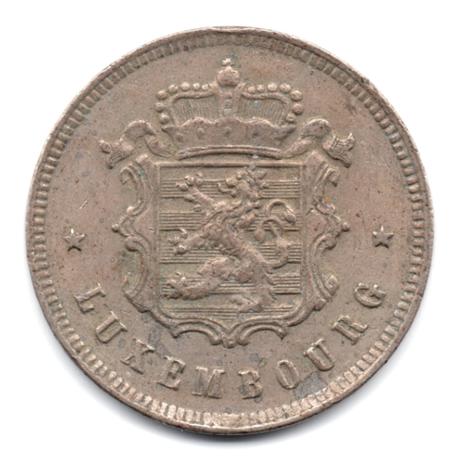 25 centimes armoiries du luxembourg 1927 elys es. Black Bedroom Furniture Sets. Home Design Ideas