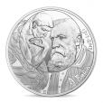 10 euro France 2017 argent - Rodin et son Penseur Avers