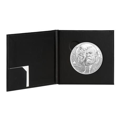 10 euro France 2017 argent - Rodin et son Penseur (encart) (intérieur)