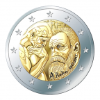 2-euro-commemorative-france-2017-rodin-et-son-penseur