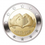 2-euro-commemorative-malte-2016-amour-avers
