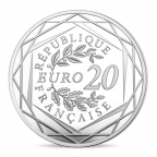 20 euro France 2017 argent BE - Marianne Revers