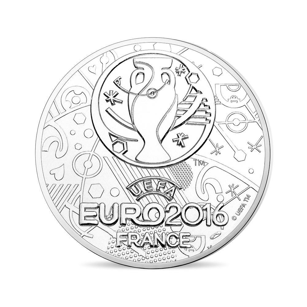 (FMED.Méd.even.2016.CuNi.10011302610000) Event token - UEFA Euro, France 2016 Reverse (zoom)