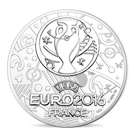 (FMED.Méd.even.2016.CuNi.10011302610000) Jeton événementiel - EURO 2016 (Portugal) Revers
