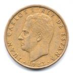 (W064.100.1983.1.000000001) 100 Pesetas Juan Carlos Ier 1983 Avers