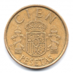 (W064.100.1983.1.000000001) 100 Pesetas Juan Carlos Ier 1983 Revers