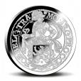 1 Daldre au lion Pays-Bas 2017 1 once argent BE Revers