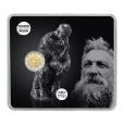 2 euro commémorative France 2017 BU - Rodin et son Penseur Recto