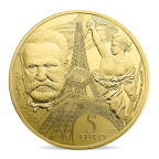5 euro France 2017 or BE - Europa Revers