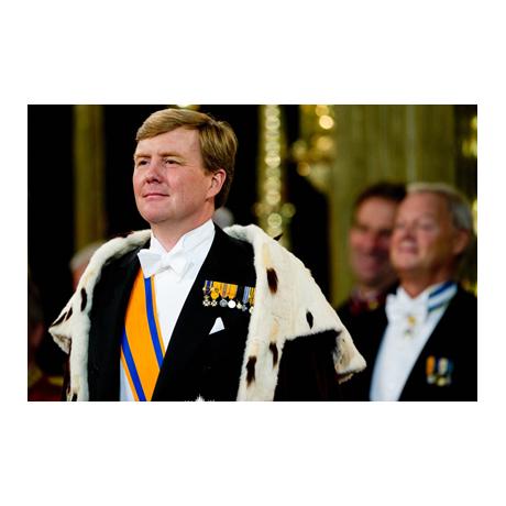 50 cent Pays-Bas 2017 UNC - Anniversaire du roi (visuel complémentaire)