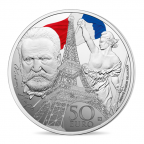 50 euro France 2017 argent BE - Europa Revers
