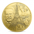 50 euro France 2017 or BE - Europa Revers