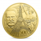 500 euro France 2017 or BE - Europa Revers