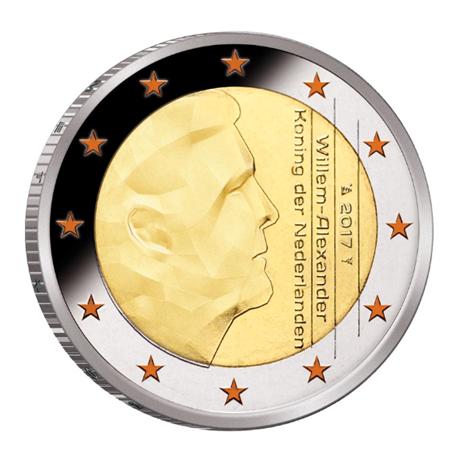 Coffret BE Pays-Bas 2017 (2 euro colorisée)