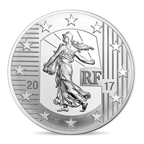 (EUR07.ComBU&BE.2017.1000.BE.10041307780000) 10 euro France 2017 argent BE - Semeuse Avers