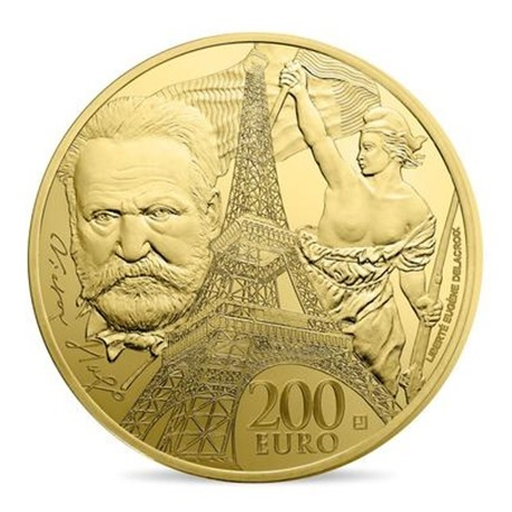(EUR07.ComBU&BE.2017.10041307800000) 200 euro France 2017 Au BE - Europa Revers