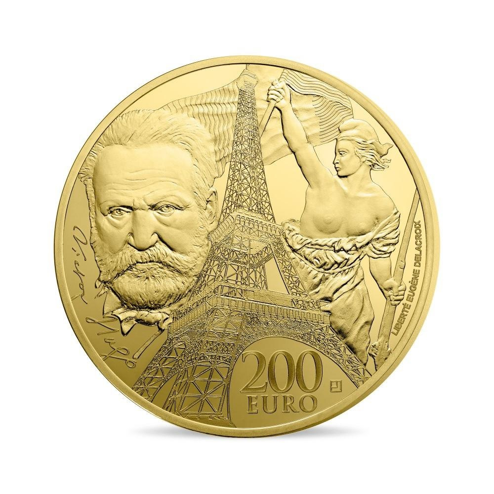 (EUR07.ComBU&BE.2017.10041307800000) 200 euro France 2017 Proof gold - Europa Reverse (zoom)