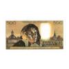 (FBILLS.500.spécimen1.1.008) Faux spécimen 500 Francs Pascal Verso