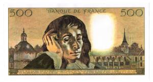 (FBILLS.500.spécimen1.1.008) Faux spécimen 500 Francs Pascal Verso (zoom)