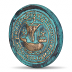 (FMED.Méd.MdP.CuSn153.1) Médaille bronze - Sceau de Paris Avers
