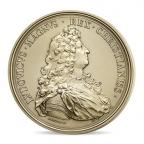 (FMED.Méd.MdP.CuZn8.2) Médaille bronze florentin - Louis XIV Avers