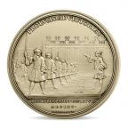 (FMED.Méd.MdP.CuZn8.2) Médaille bronze florentin - Louis XIV Revers